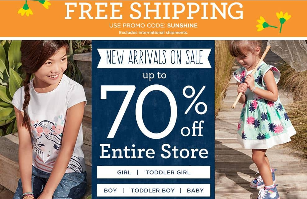 FREE shipping at Gymboree