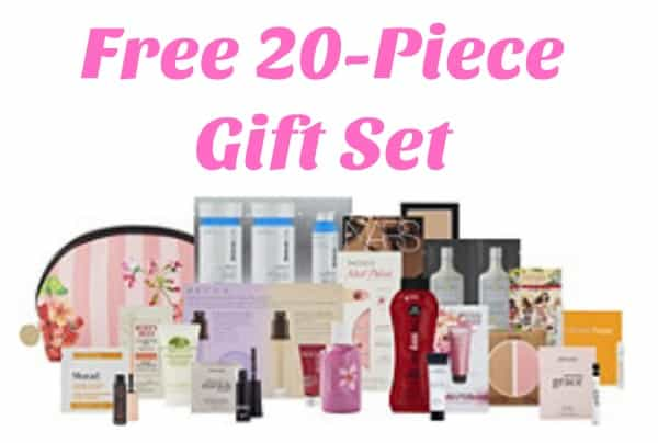 Ulta: FREE 20pc Beauty Bag with Purchase ($108 Value)!