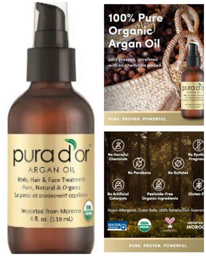 PURA D'OR Moroccan Argan Oil