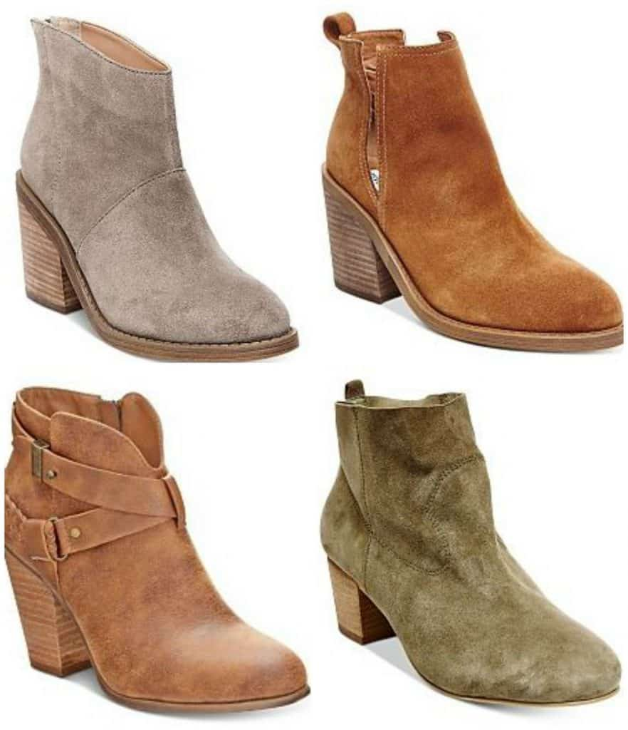 75% off women's boots at Macys.com
