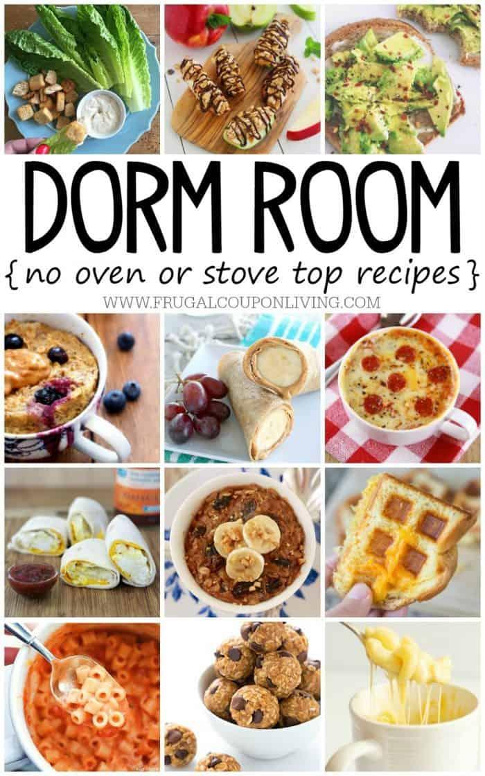 No Bake Dorm Room Recipes You Want To Eat