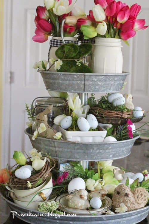 Spring Easter Home Decor Ideas