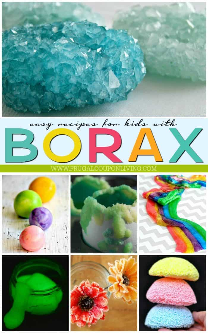 Easy Borax Uses For Kids on 5th Grade Science Projects