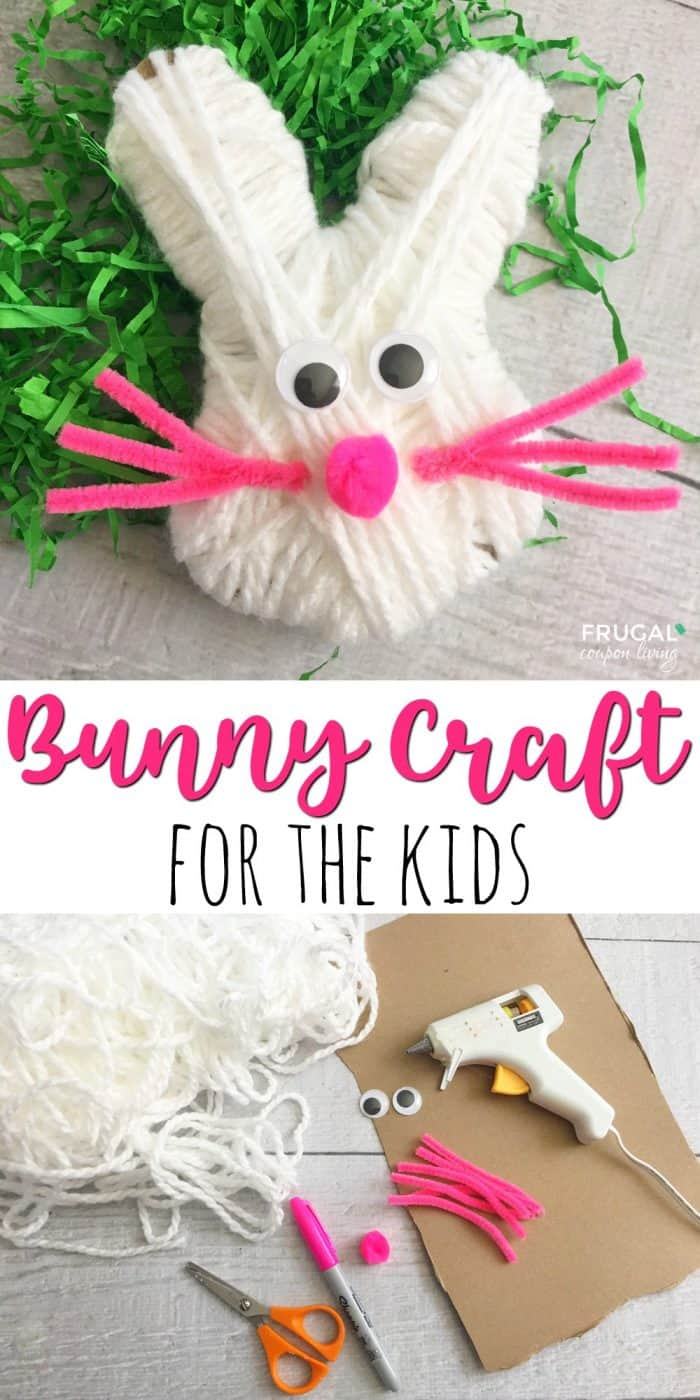 Bunny Easter Craft For Kids