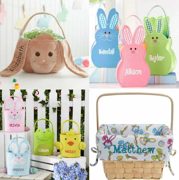 Personalized easter baskets as low as 1698 i cant handle all the cuteness from these personalized easter baskets you wont believe that walmart offers a huge selection of these adorable baskets for negle Images