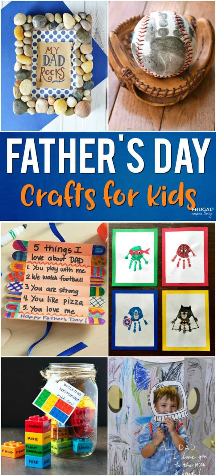 Crafts For Dad: Father's Day Crafts For Kids: Preschool, Elementary And More