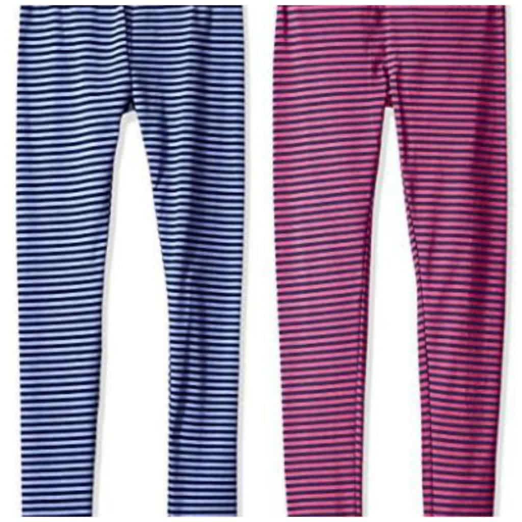 Scout + Ro Girls' Striped Jersey Leggings