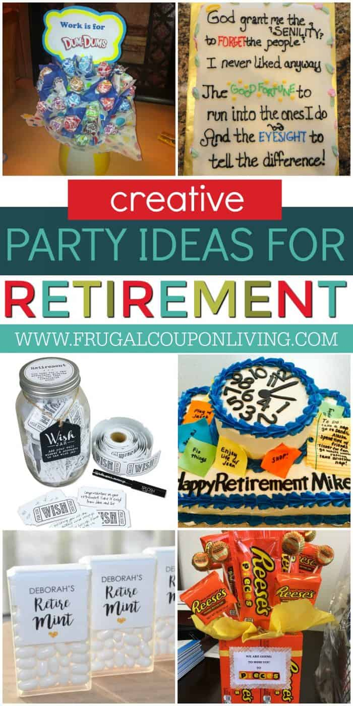 Retirement Party Ideas