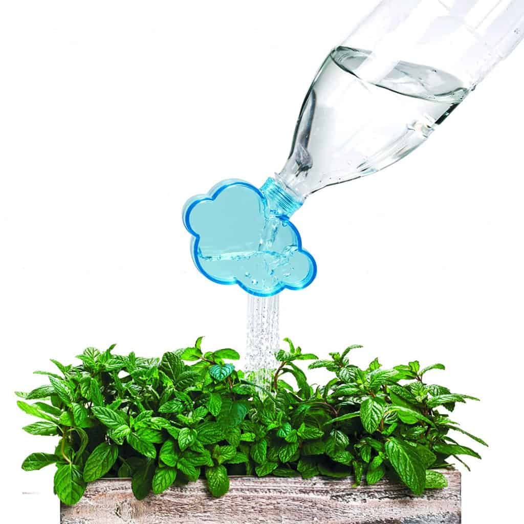 watering can bottle topper