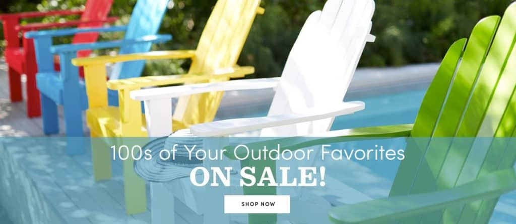 adirondack chairs as low as 85 today only