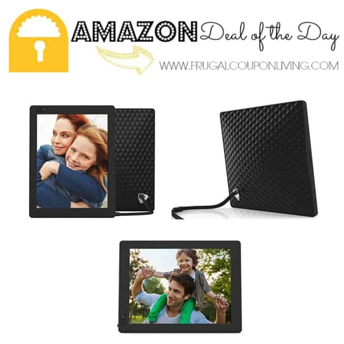 what better way with nixplay wifi digital photo frame this is the perfect gift for mom and it is available today only for