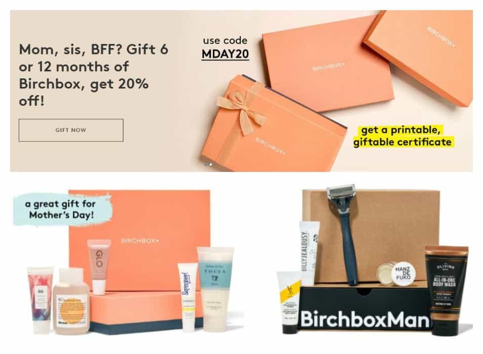 Birchbox Subscription Deal