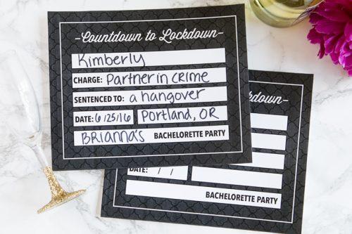 Bachelorette Party Ideas