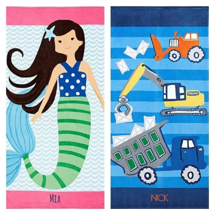 Pottery Barn Kids Beach Towels