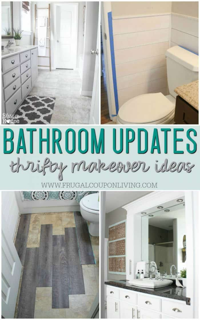 Remodeled Bathroom Ideas Inspiring Makeovers On A Budget - Bathroom updates on a budget