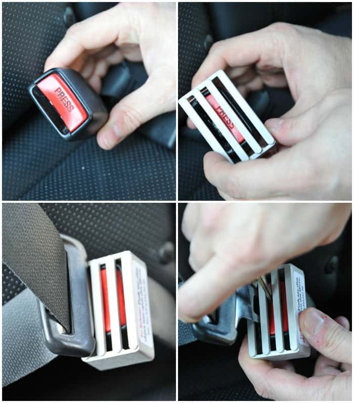 Seat Belt Buckle Guard Just 15 99