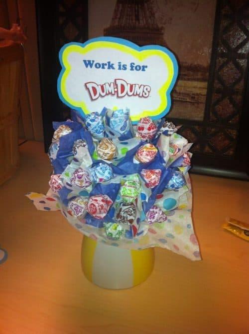 Birthday Cake Dum Dums