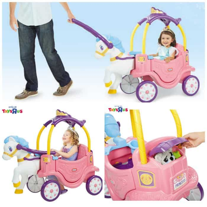little tikes princess horse and carriage instructions