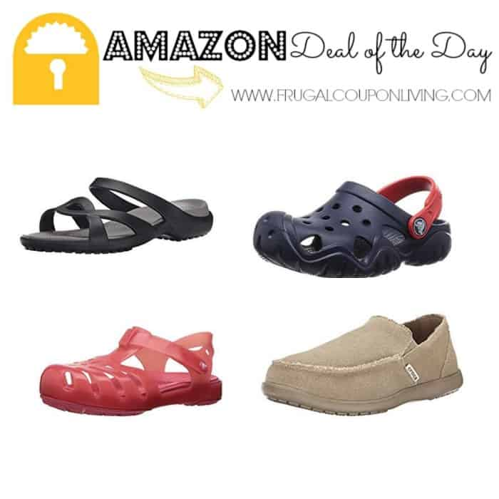 a9e385920 Amazon Deal of the Day  Up to 50% Off Crocs Shoes!