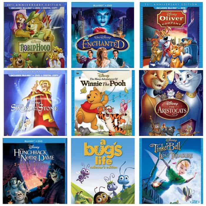Disney Blu Ray And Dvd Combos As Low As 9 99