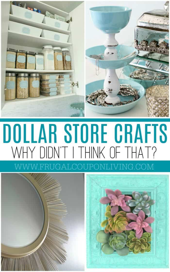 Dollar Store Crafts and Hacks