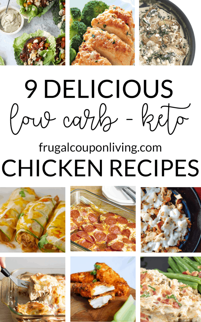 9 Delicious Low Carb Keto Diet Chicken Recipes For Dinner