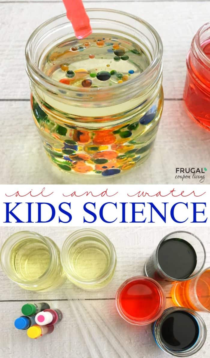 kids science experiments at home