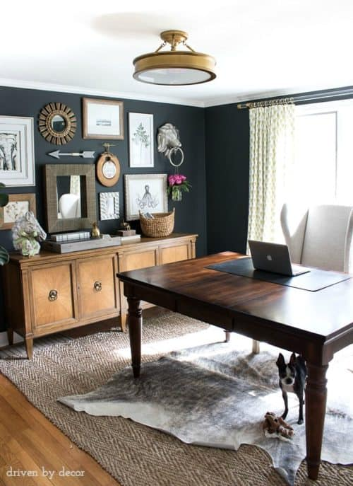 Inspiring home office decor ideas for her for Inspiring home office ideas
