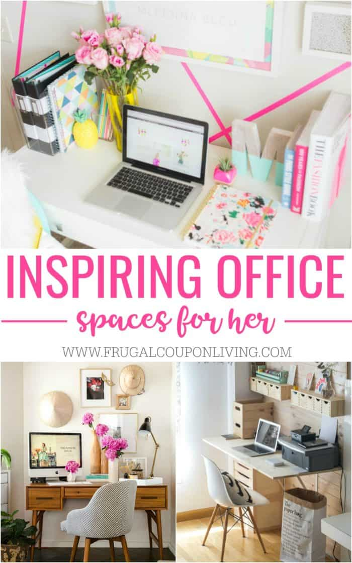 Home Office Design Decorating Ideas: Inspiring Home Office Decor Ideas For Her