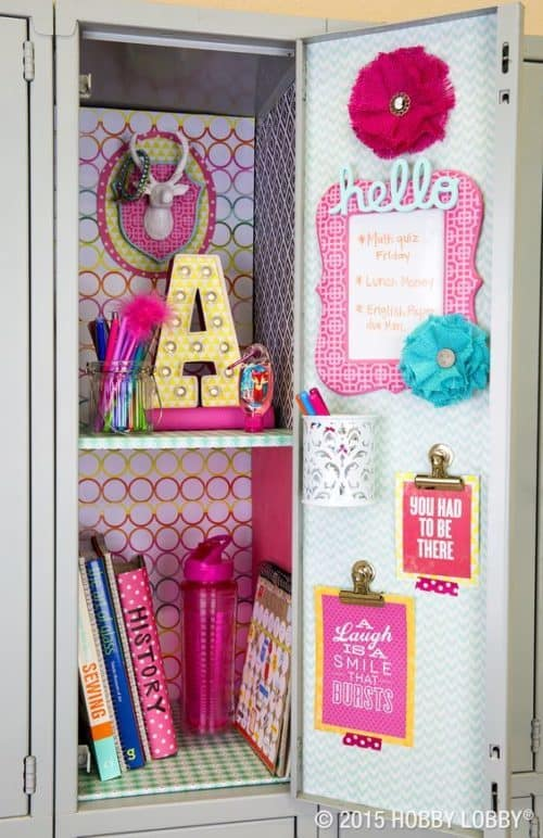 Locker Ideas For The Coolest Kid In The Hall
