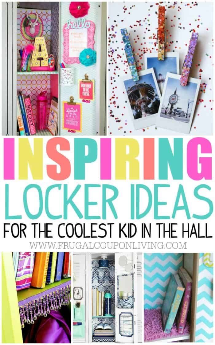 Locker Ideas locker ideas for the coolest kid in the hall