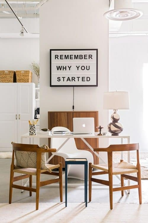 We Love This Lightbox Used In An Office U2013 Remember Why You Started! |  Waiting On Martha