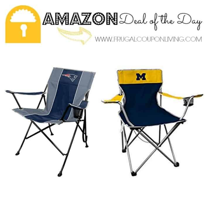 Magnificent Amazon Deal Of The Day Rawlings Nfl And Ncaa Tailgate Lamtechconsult Wood Chair Design Ideas Lamtechconsultcom