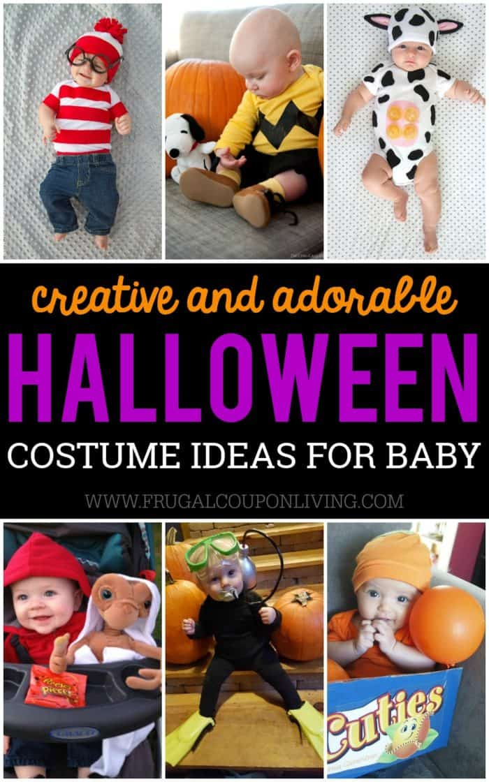 Creative Halloween Makeup Ideas A Subtle Revelry: Creative Baby Halloween Costume Ideas