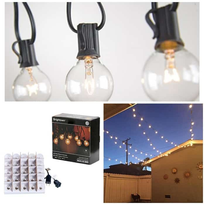 String Lights Cvs : 25Ft Globe String Lights with Clear Bulbs Just USD 15.95!