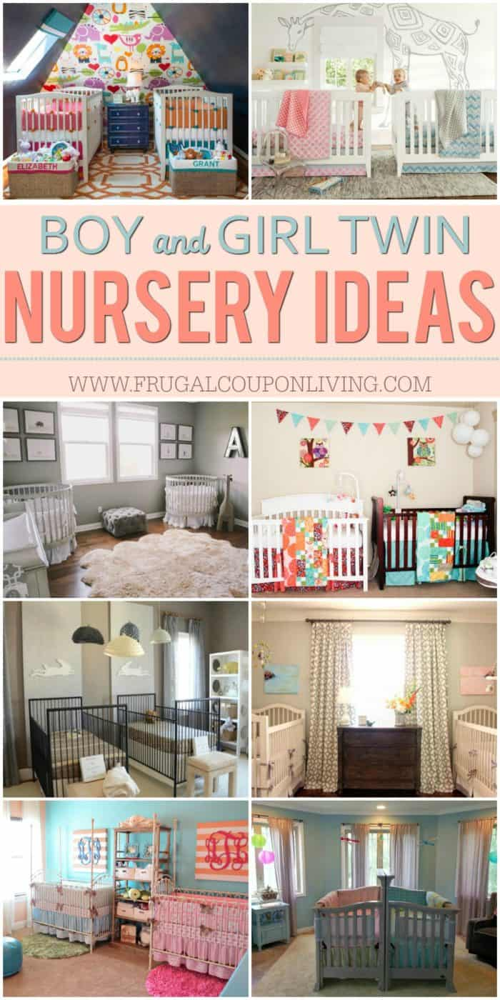 Inspiring Twin Nursery Ideas Boygirl Boyboy And Girlgirl