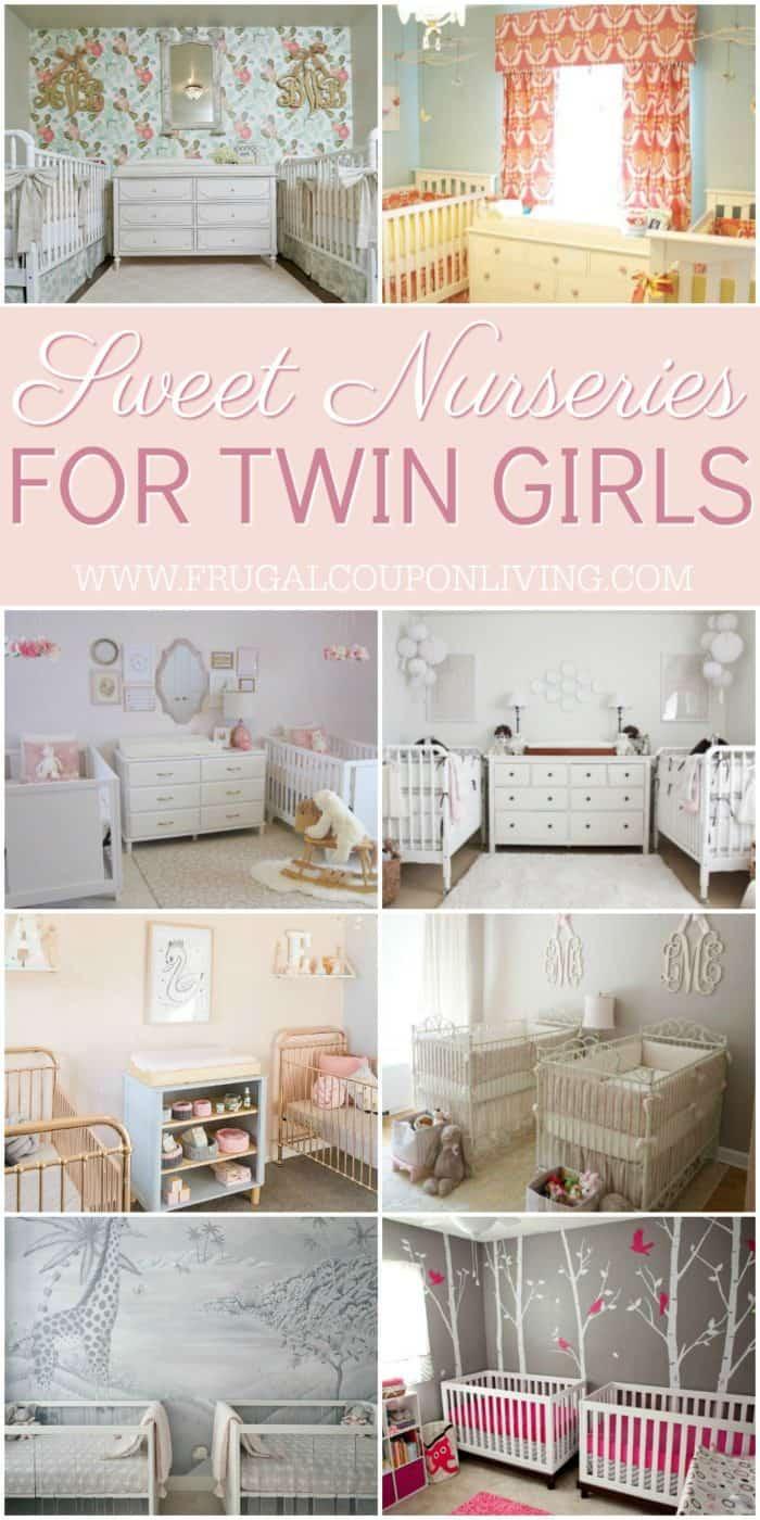 Inspiring Twin Nursery Ideas - Boy/Girl, Boy/Boy and Girl/Girl
