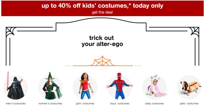 d370ead9036 Target Halloween Costumes - 40% Off Today!