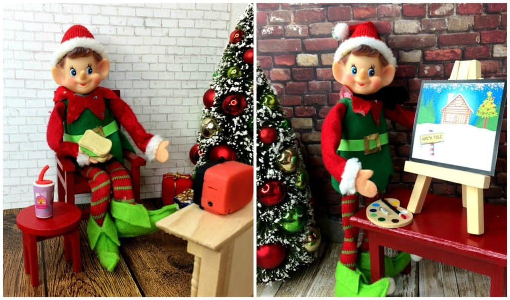 Elf on the Shelf Props