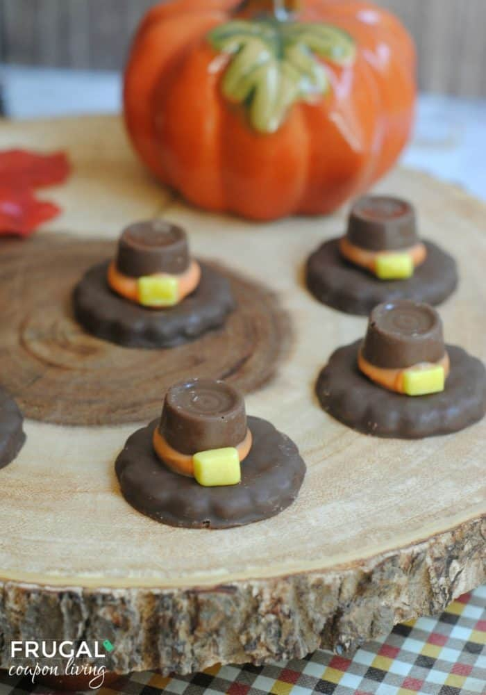 Kids' Thanksgiving Food Craft - Pilgrim Hats Fall Tradition
