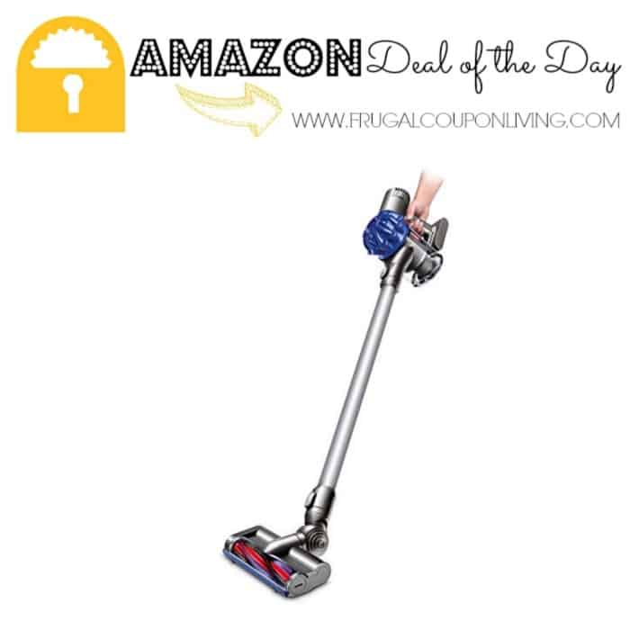 Amazon Deal of the Day: Dyson V6 Slim Vacuum Cleaner for $179!
