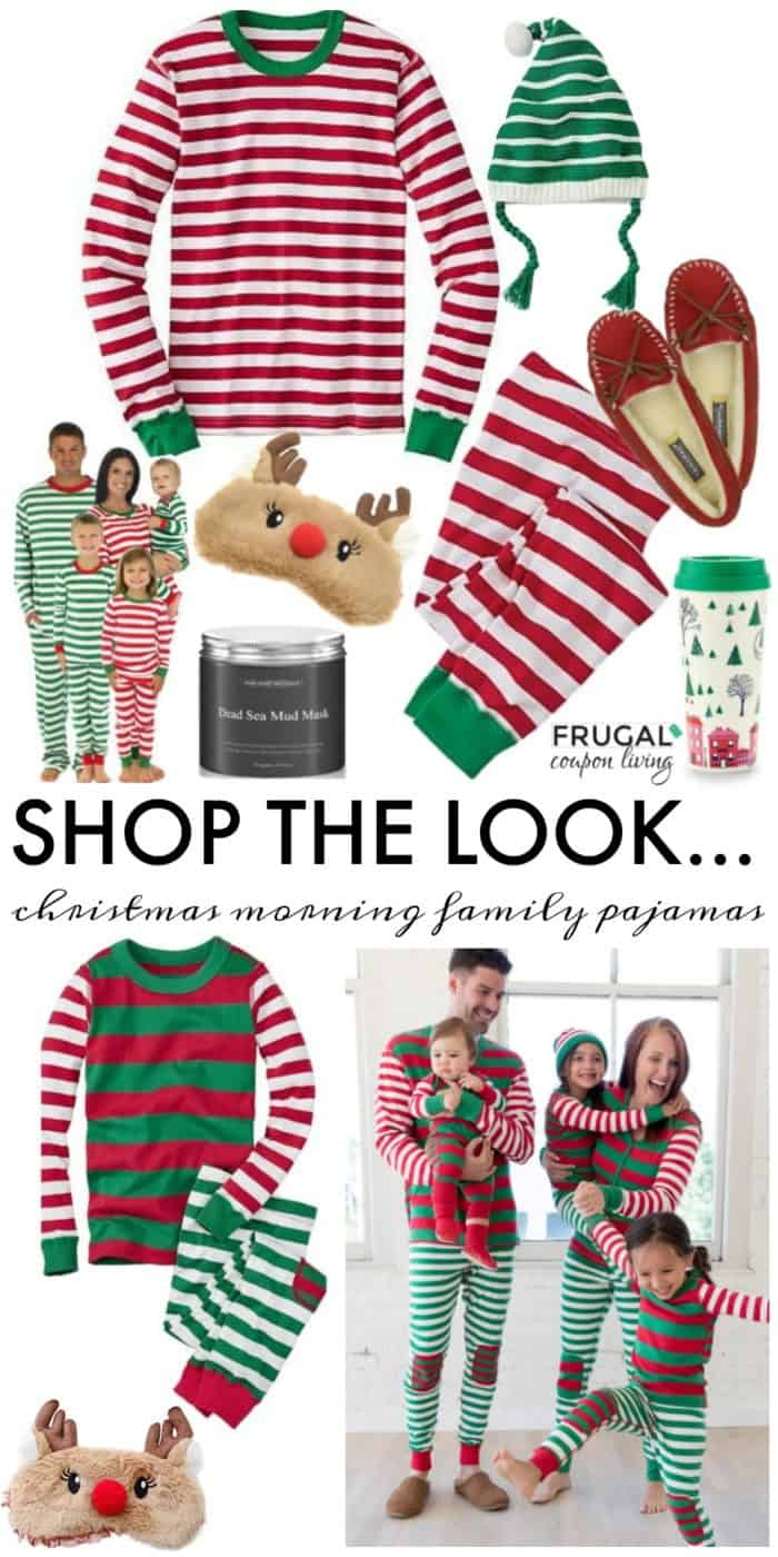Frugal Fashion Friday Christmas Morning Family Pajamas