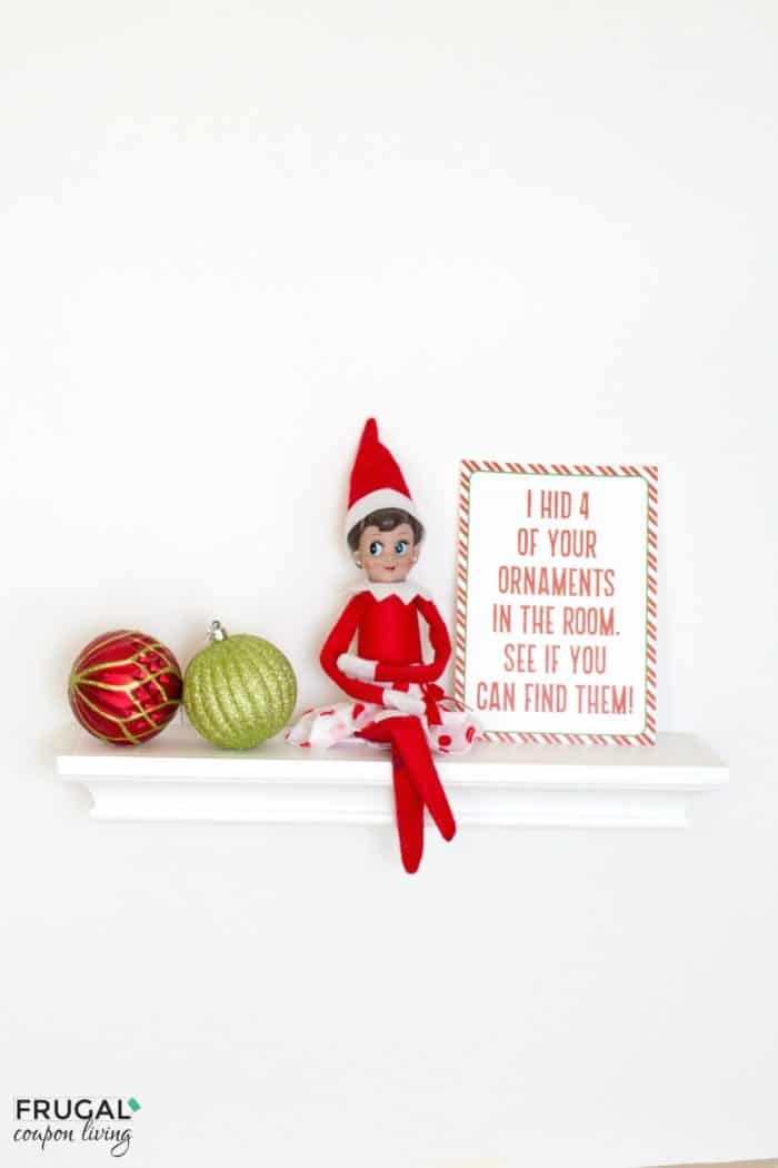 elf on the shelf ideas elf hides ornaments instant download. Black Bedroom Furniture Sets. Home Design Ideas