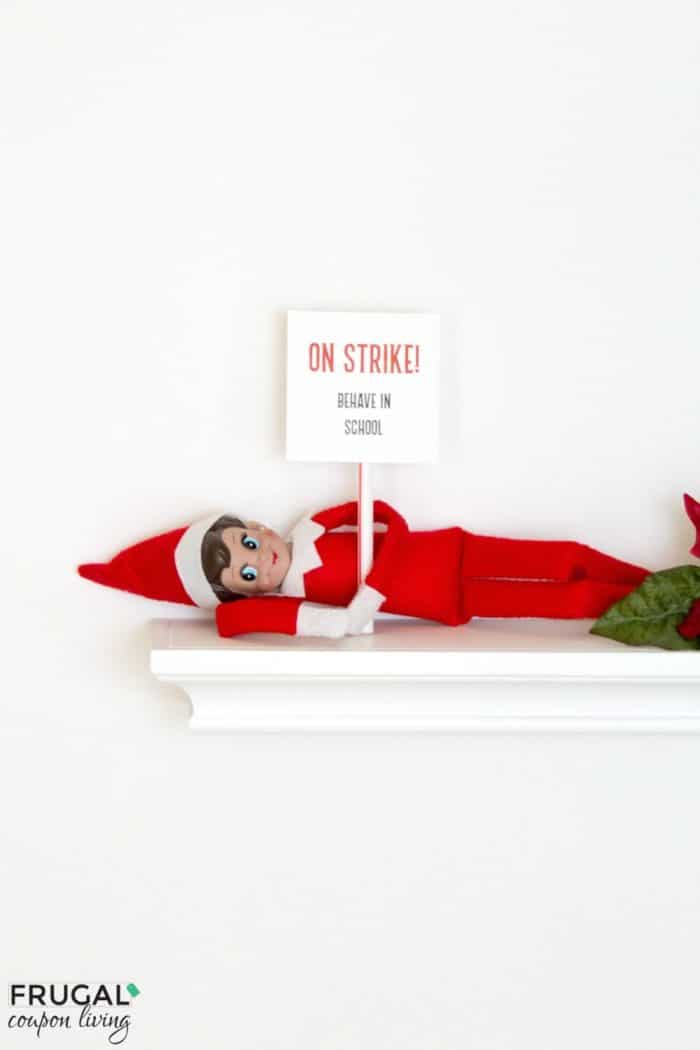 Elf on the Shelf Ideas | Elf on Strike!