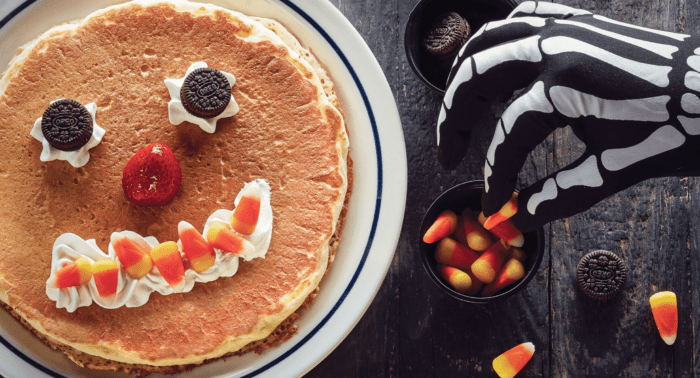 IHOP: FREE Scary Face Pancake on Halloween