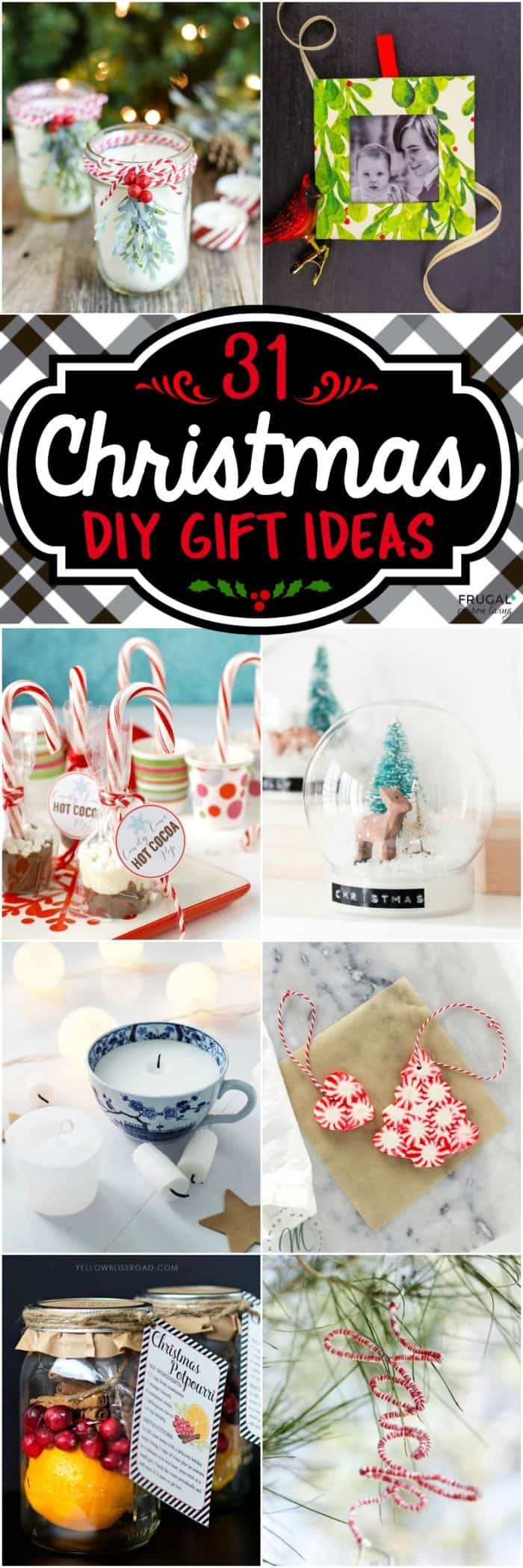 31 Creative and Fun DIY Christmas Gift Ideas - Part Two