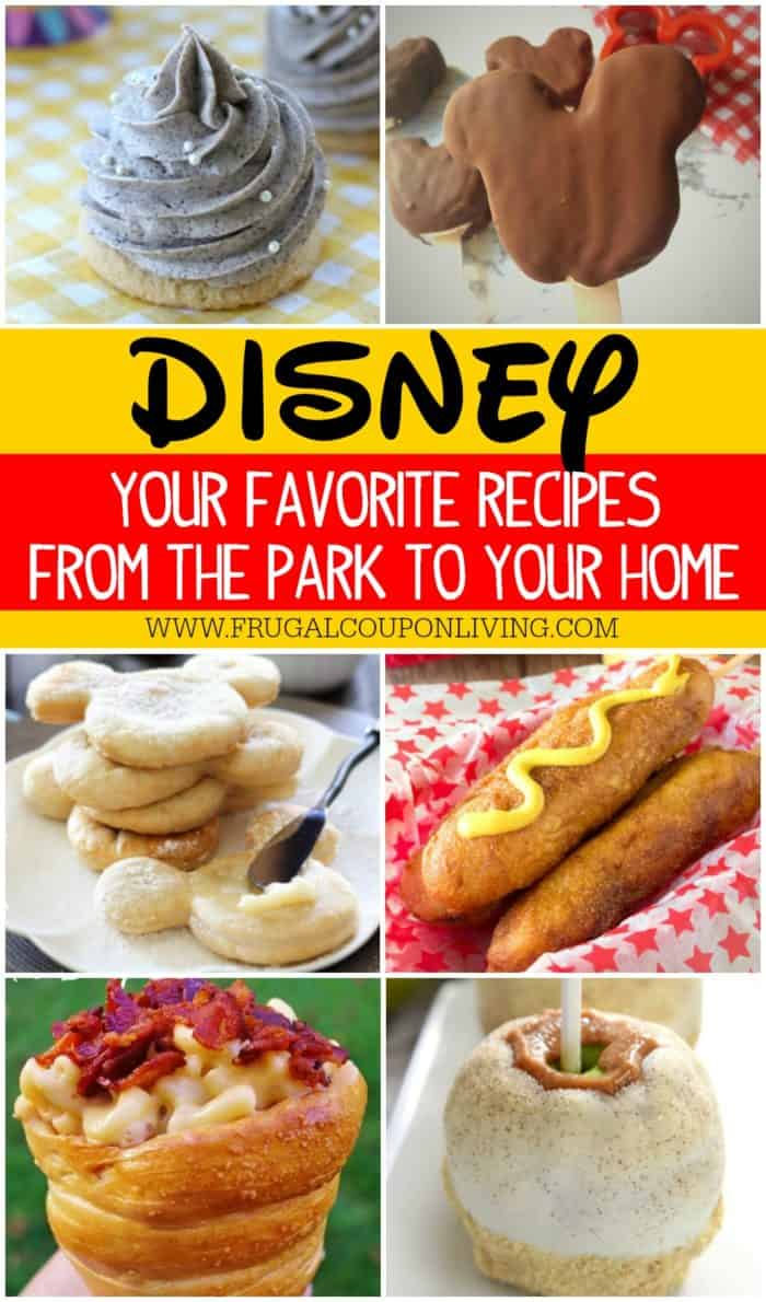 Disney coupons for food
