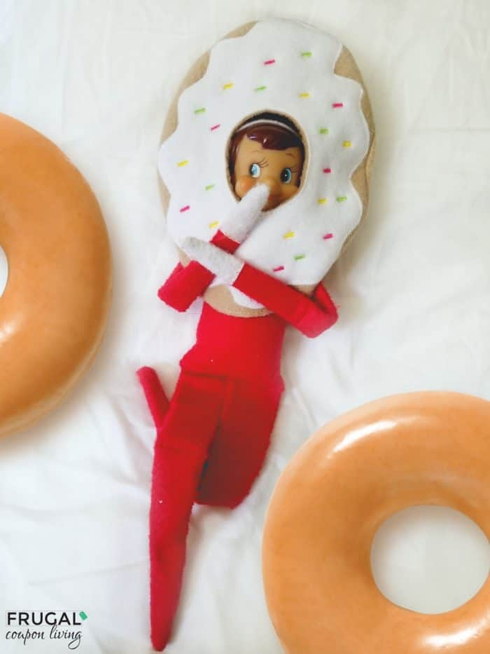 Doughnut Elf Costume