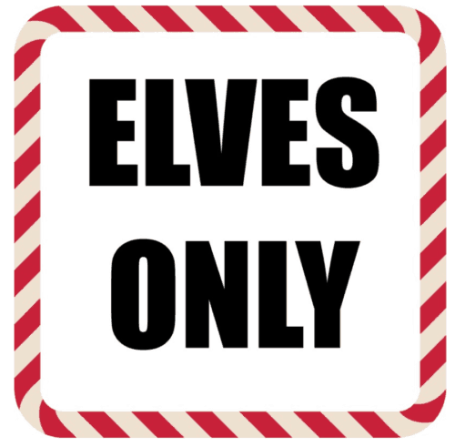 graphic regarding Printable Elves called Elf upon the Shelf Tips Printable Elves Merely Be aware for the