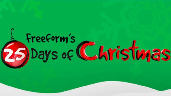 Freeform 25 Days of Christmas Schedule